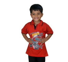 Orange T-shirt for Boys, 65,  orange