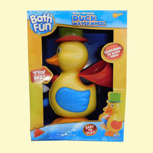 Cute And Attractive Duck Bath Shower Wheel For Baby Kids,  yellow, 31.5   22   11 cm, plastic