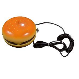 Hamburger Telephone Handset,  yellow