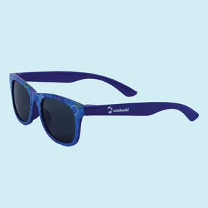 Fancy Blue Kids Sunglasses, plastic, 13   3   6 cm,  blue