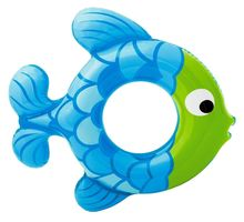 Blue Fish Shape Swimming Tube