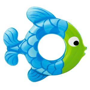 Blue Fish Shape Swimming Tube