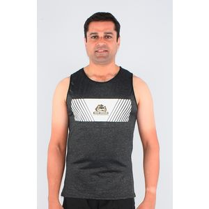 Ultra Soft And Smooth Sleeveless T-Shirt For Men's, xxxl, 90  polyester and 10  spandex,  black