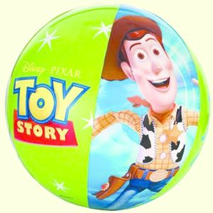 Disney Toy Story Pool & Beach Fun Beach Ball, plastic, 61   61   61 cm,  blue