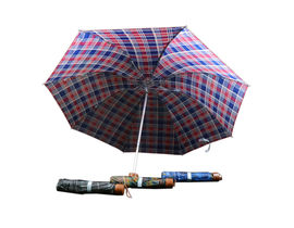 Checks Design Umbrella for Men,  black