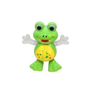 Fab5 Dancing Frog Yj-3008 (Green, Pack Of 1), green