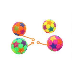 Fab5 Flashing Spiky Ball Tl46(Multi, Pack Of 4), multi