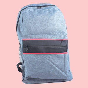 High Quality Oxford Cloth Student School Wonderful Casual Business Computer Travel 20 L Bag, polyster, 28   14   44 cm,  grey