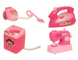 Fab5 House Hold Set (Pink, Set Of 4), pink