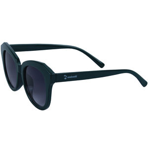 Blackish Green Oval Fancy Sunglass, plastic, 16   3   7 cm,  black