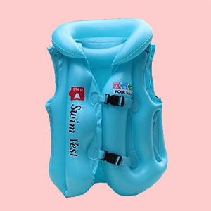 Sports Children Swim Vest Kids Life Jacket For Swimming, plastic,  blue