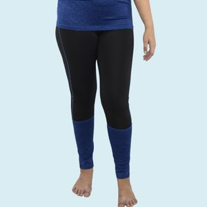 Girls Polyester Sports Swimming Compression Pant/Legging/Full Tights, 90  polyester and 10  spandex, xxxl,  blue