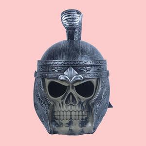 Helmets Galea Niederbieber Gladiator - Roman Helmet, plastic, 20   25   20 cm,  silver