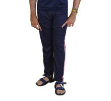 Dark Blue Track Pant for Men, xl,  dark blue
