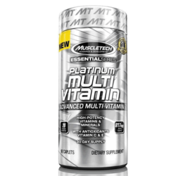 Muscletech Essential Series platinum MULTI VITAMIN, 500 gm, jar