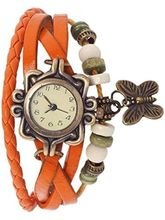 FAP Analog Fancy Orange Colour Womens And Girls Watch