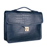 Stampa 03 Women s Handbag, Croco Melbourne Ranch,  blue
