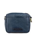 Mb Ellie Women s Handbag, Snake Melbourne Ranch,  midnight blue