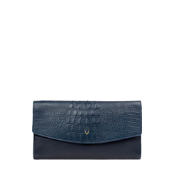 Alive W1 Women's Wallet Baby Croco,  midnight blue