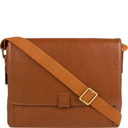 Aiden 01 Messenger bag, regular,  tan