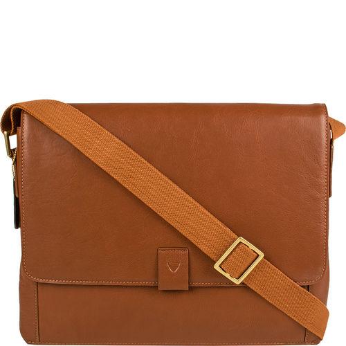 Aiden 01 Messenger bag,  tan, regular