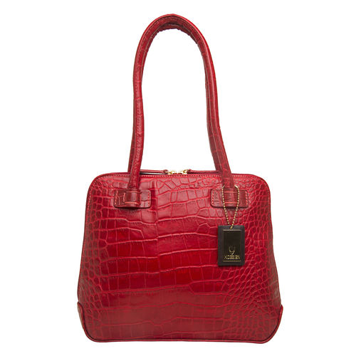 Estelle Small Women s Handbag, Croco,  red