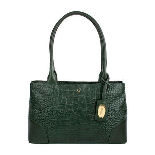 Berlin 02 Sb Women s Handbag, Croco Melbourne Ranch,  emerald green