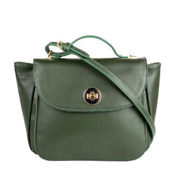 Vitello 02 Women's Handbag, Ranch Mel Ranch,  emerald