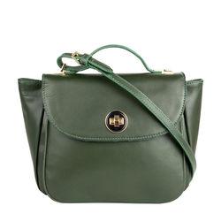 Vitello 02 Handbag,  emerald