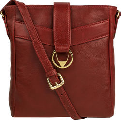 Azha 03 Handbag, ranchero,  red
