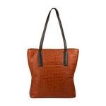 Claea 01 Womens Handbag Croco,  tan, croco
