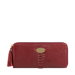 RHUBARB W1 (RF) WOMENS WALLET EI SHEEP,  marsala