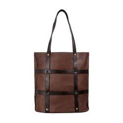 Hidesign x Kalki Freedom 02 Women's Handbag, Waxed Split Regular,  tan
