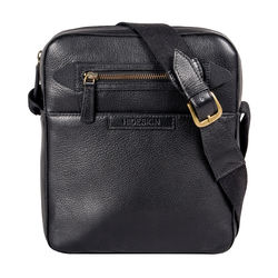 Mackenzie 02 Sb Men's Crossbody, Regular,  black