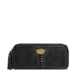 RHUBARB W1 (RF) WOMENS WALLET EI SHEEP,  black