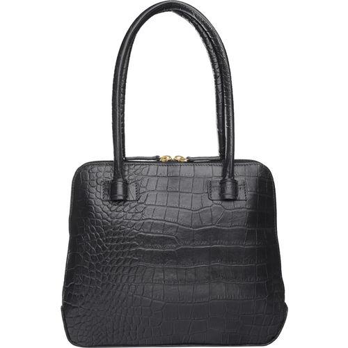 Estelle Women s Handbag Croco,  black