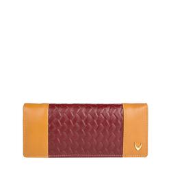 Marty W1 (Rfid) Women's Wallet, Woven Melbourne,  honey