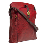Sb Mensa 02 Women s Handbag, Cement Lizard Ranchero,  red