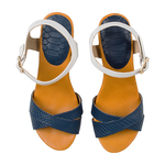 Sophia Women s Shoes, Snake Ranch, 38,  midnight blue