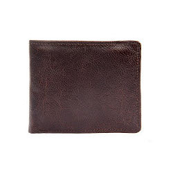 L106 Men's wallet, regular,  chestnut