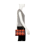 FLAPPER GIRL 04 WOMEN S HANDBAG LAMB,  marsala