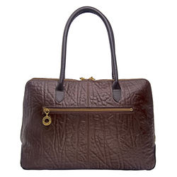 Yangtze 03 Handbag, elephant,  brown