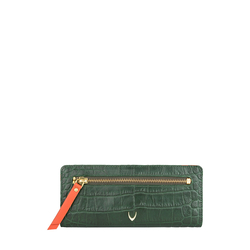 Jupiter W1 Sb (Rfid) Women's Wallet, Croco Melbourne Ranch,  green