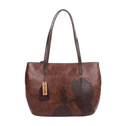 Rose 02 Handbag,  brown
