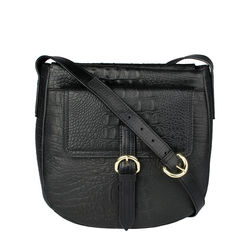 Rizzo 01 Women's Handbag, Baby Croco Melbourne Ranch,  black