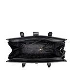 Mocha 02 Women s Handbag, Croco,  black