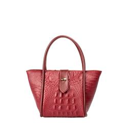 Hermione Ee Women's Handbag Baby Croco,  marsala