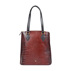 Scorpio 01 Sb Women's Handbag, Croco Melbourne Ranch,  red
