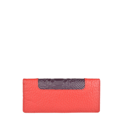 Sb Olivia W1 (Rfid) Women's Wallet, Pebble Snake,  red