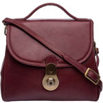 Marina Women s Handbag, Soweto Maori,  red
